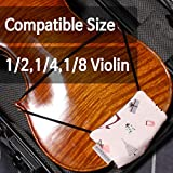 MUSEECS Premium Chinrest Cover for Violin Child