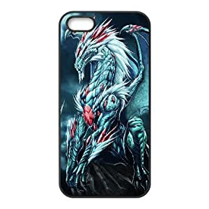 Diy Dragon Phone Case For Sam Sung Galaxy S5 Mini Cover Black Shell Phone JFLIFE(TM) [Pattern-4]