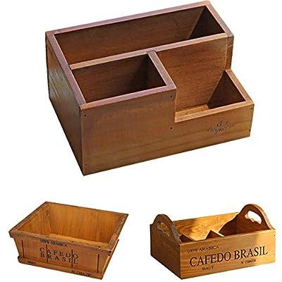 Easydeal Wooden Garden Window Box Trough Planter Succulent Flower Bed Pot