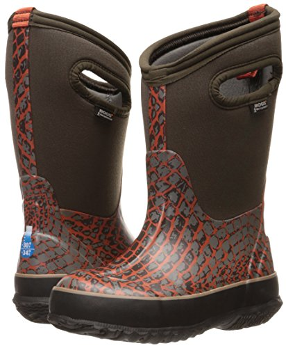 Scale Boot 'classic Kids Bogs Winter Brown Snow multi TwvExqnax