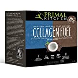 Primal Kitchen - Collagen Fuel Protein Mix 2-Pack, Supports Healthy Hair, Skin, Nails and Joints, Promotes Muscle RepairCollagen Fuel (4 Chocolate Coconut + 4 Vanilla Coconut)