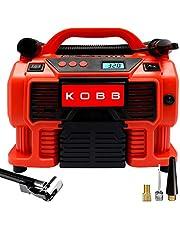 KOBB KB300 12Volt/220Volt 160 PSI Dijital Basınç Göstergeli Lastik & Yatak Şişirme Pompası