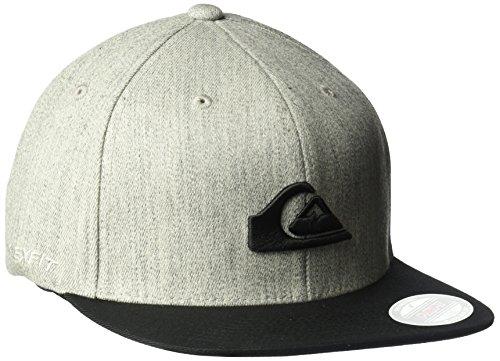 Quiksilver Men's Stuckles Hat, Light Grey Heather, Large/X-Large