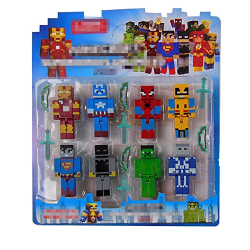 New Arrival Kids Toy 8pcs/lot Avengers Building Blocks Assembly Toy Compatible Action Figures Gift Figures Toy
