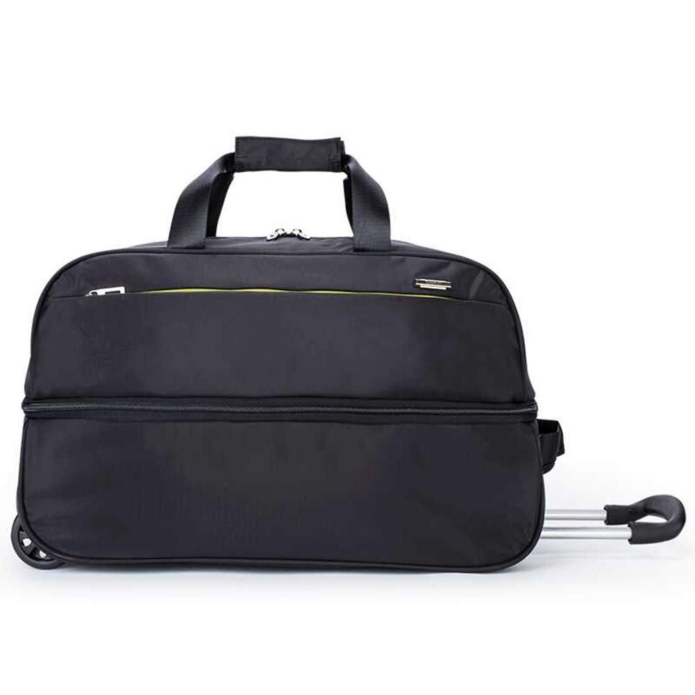 Color : Black, Size : 493932cm Travel Bags Trolley Case Baggage High Capacity Men and Women Business Bag Luggage Suitcases Carry On Hand Luggage Durable Hold Tingting