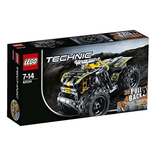RARE LEGO TRCHNIC Quad Bike High-speed Pull-back Motor 42034 Japan (Lego Bike Quad)