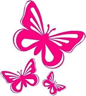 De mariposa pegatinas de vinilo adhesivo, de coche, ventana, van