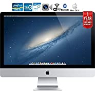 Apple iMac ME086LL/A 21.5-Inch Intel Core i5 Desktop with 1 Year Extended Warranty - (Certified Refurbished)