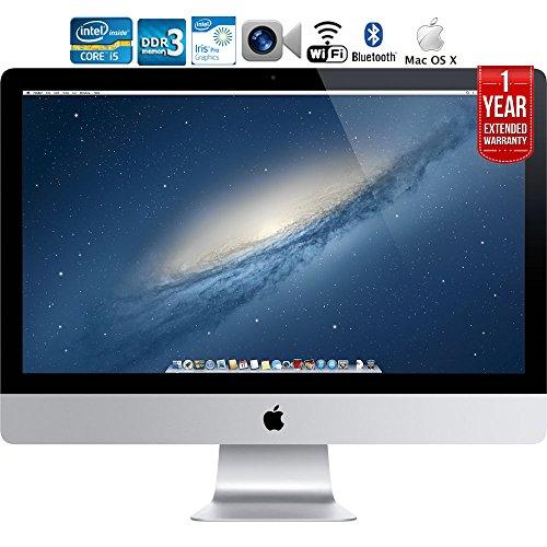 Apple iMac ME086LL/A 21.5-inch Intel Core i5 Desktop 1 Year Extended Warranty - (Renewed)