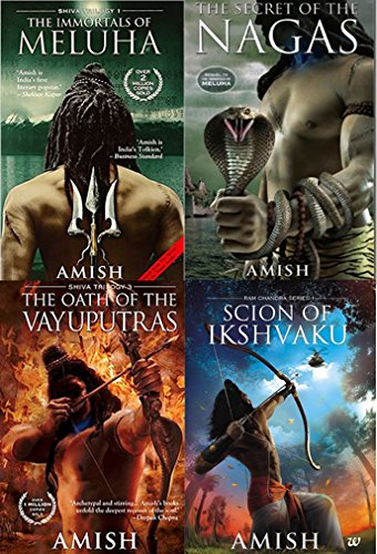 Amish Tripathi Complete Collection