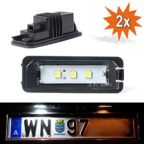 Lá mpara para matrí cula LED DoLED D015050 con marca de certificació n E Do!LED