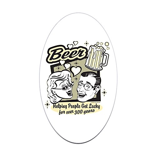 sticker-oval-beer-helping-people-get-lucky