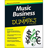 Music Business For Dummies book cover