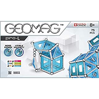 Geomag Pro-L Kit – 75 Piece Magnetic Construction Set