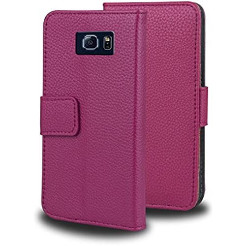 Galaxy S7 Edge Case, Samsung Galaxy S7 Edge Case, SAVFY Premium PU Leather Wallet Case Protective Cover for Samsung Sales