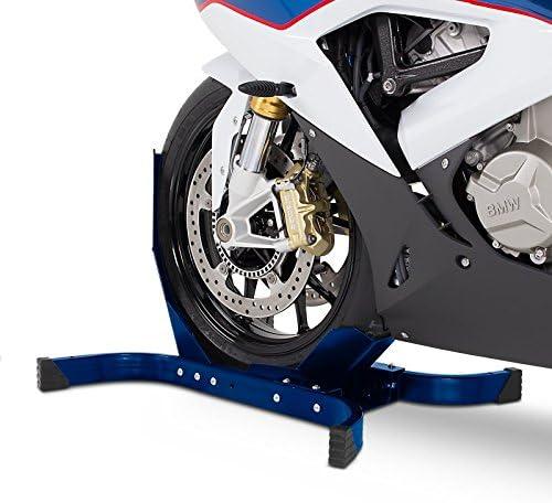 B/équille cale de Roue pour Moto Guzzi V7 III Stone Constands Easy Plus Bleu