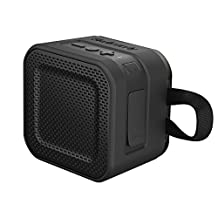 Skullcandy Barricade Mini Bluetooth Wireless Portable Speaker, Black