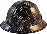 Covert USA Flag Hydro Dipped Hard Hats, Full Brim Style