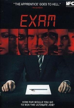 Exam: Amazon.fr: Adar Beck, Gemma Chan, Nathalie Cox, John Lloyd ...