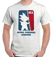 National Kamehameha Association Dragon Ball Z Goku T Shirt