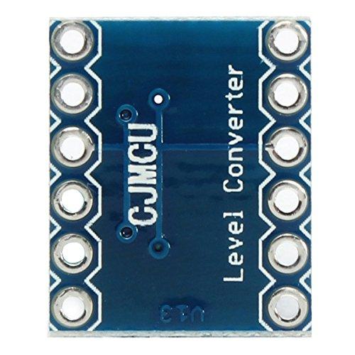 QOJA two channel iic i2c logic level converter bi-directional module