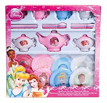 Disney Princess 27 Piece Dinnerware Playset by Tradestar  sc 1 st  Amazon.com & Amazon.com: Disney Princess 27 Piece Dinnerware Playset by Tradestar ...