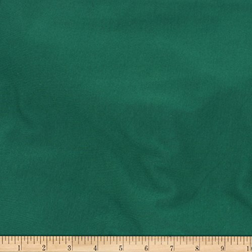 TELIO Stretch Bamboo Rayon Jersey Knit Evergreen Fabric by The Yard