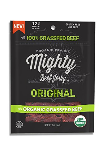 Organic Prairie - Mighty Beef Jerky Peppered