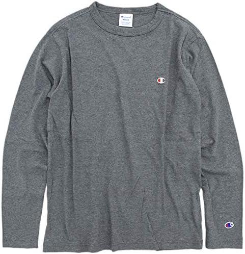 [チャンピオン] ワンポイントロゴ ロングスリーブTシャツ ベーシック C3-P401 メンズ