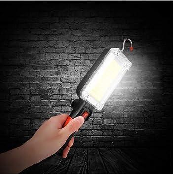 Linterna de trabajo LED Carga USB Clip de gancho magnético ...
