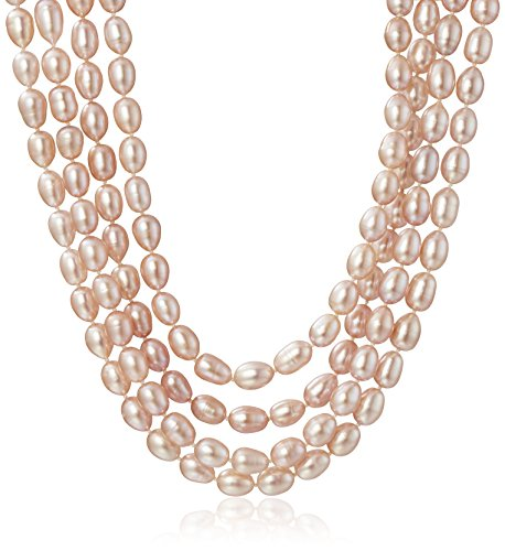 7-8mm-Pink-Rice-Freshwater-Cultured-Pearl-Endless-Necklace-100
