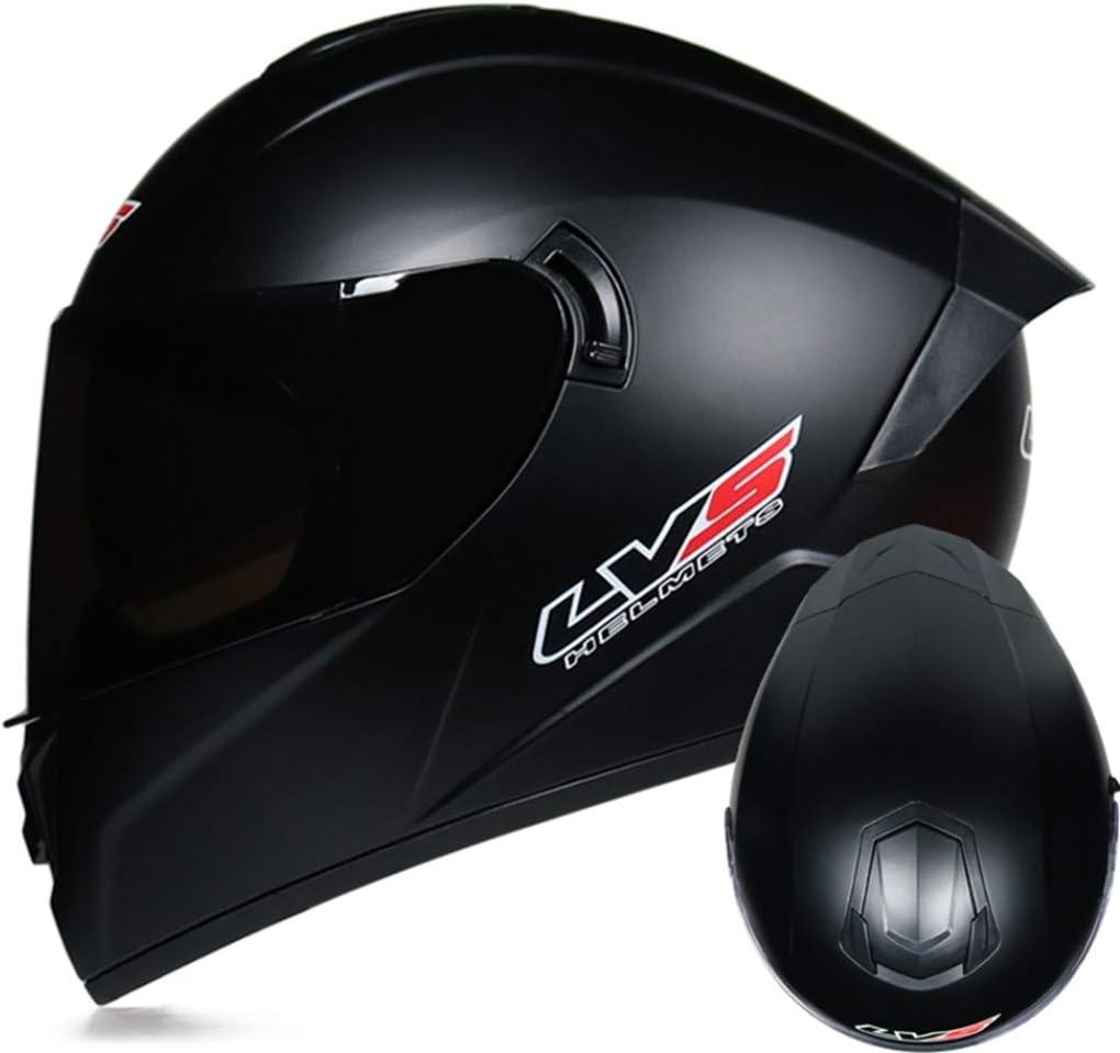 Caschi Per Moto Da Corsa A Doppia Lente Caschi Integrali Per Adulti Di Protezione Per Fuoristrada Colorati Di Sicurezza Cappelli Per Moto Da Moto Anti-collisione