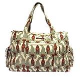 Bungalow360 Vegan Cotton Canvas Duffle Gym Bag (Alpaca)