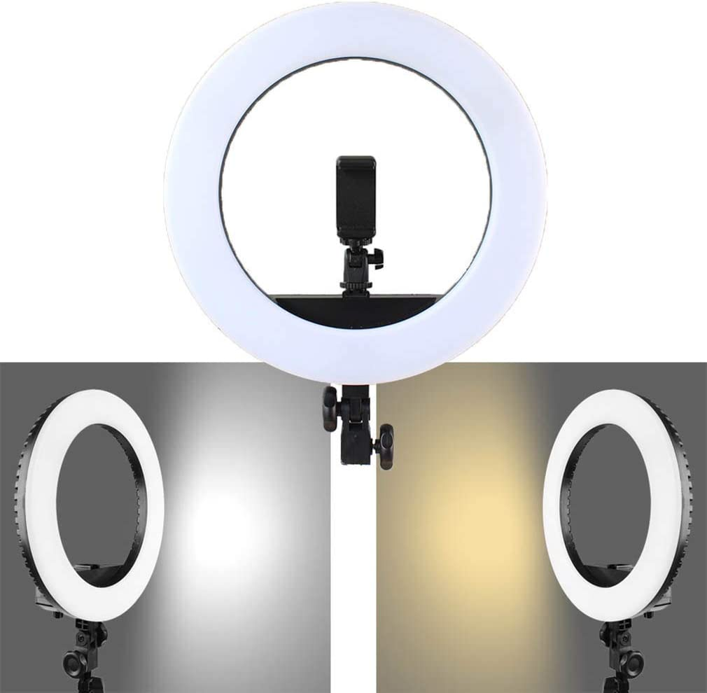 XYSQWZ 20 Inch External Dimmable LED Ring Light 45W 3200k-5600K Ring Light for Live YouTube Video Makeup Vlog Photography Compatible with iPhone Android