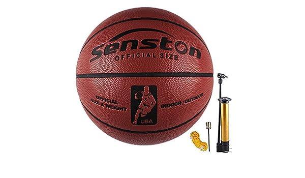 Senston Pelota de Baloncesto Outdoor Balón de Baloncesto para ...