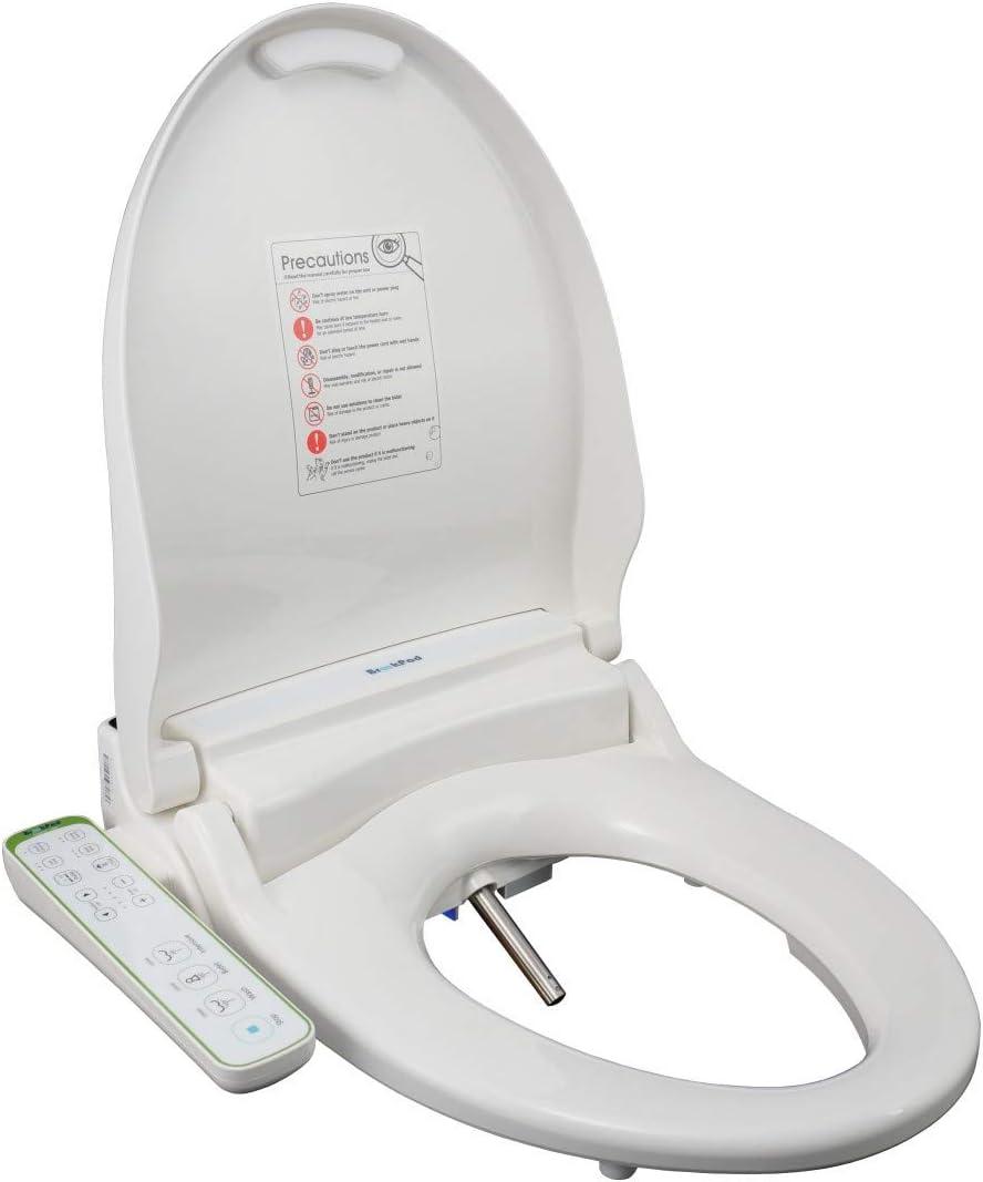 BrookPad SplashLet 1300FBS Si/ège de toilette /à bidet /électronique Douche Toilette Propret/é Confort Hygi/ène