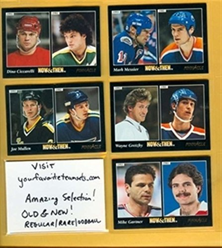 1993-94 Pinnacle Now Then 238 Mark Messier Oilers Rangers