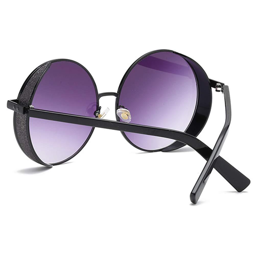 Mxssi Steampunk Sunglasses Men Gothic Round Sunglasses Vintage Uomo Donna Punk Steam Occhiali da sole