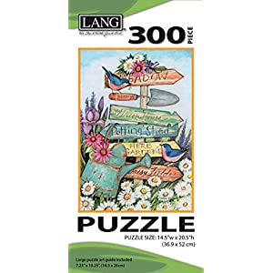 Jigsaw Puzzle 300 Pieces 145x205 Garden Sign