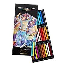 """PRISMACOLOR ART STIX Pencil, Woodless Colored Pencils 3-1/4"""" x 1/4"""" № 1954, Box of 36, Assorted Colours (2164)"""