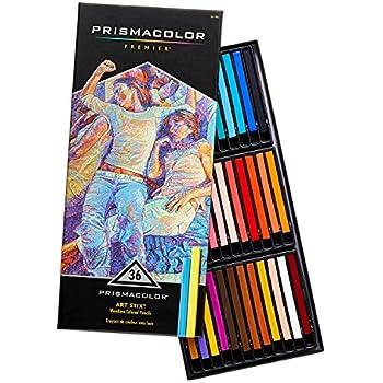 Prismacolor Premier Art Stix Woodless Colored Pencils, 36-Count