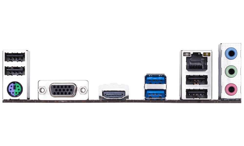 Gigabyte H310M-H HDMI IO pannel