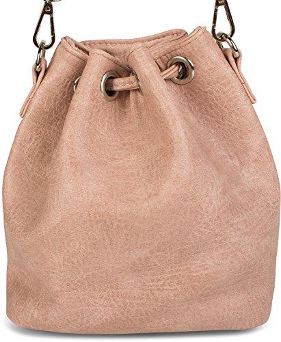 Claro Bolso al talla Rosa mujer styleBREAKER 2012248 para gris Gris hombro claro única Cqx6Sw75