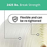 """IDL Packaging 3/4"""" Woven Cord Strapping Roll, 6"""" x"""