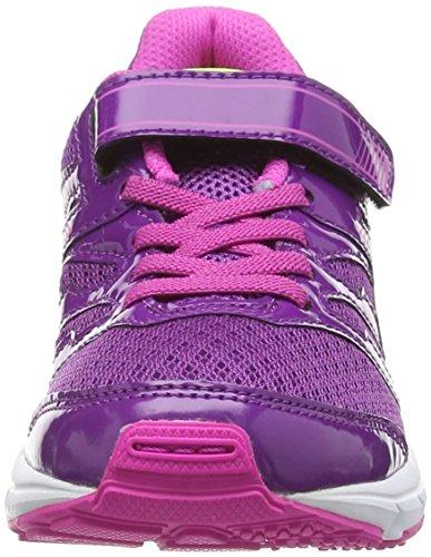 Asics Gel-zaraca 4 Ps - Zapatillas de running Unisex Niños Morado (Grape/Silver/Pink Glow 3693)