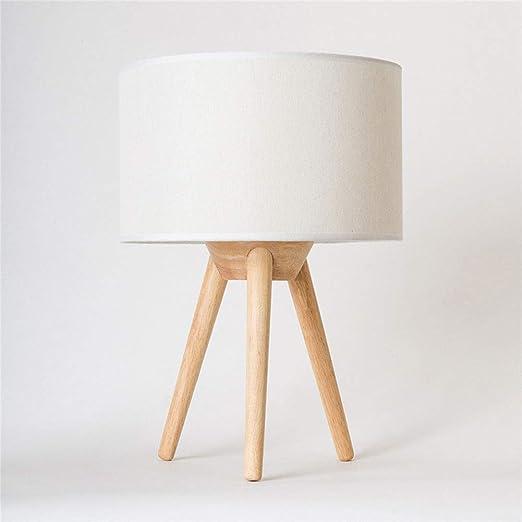 Lámpara de mesa Lámpara de mesa de noche Nordic Simple Lámpara de ...