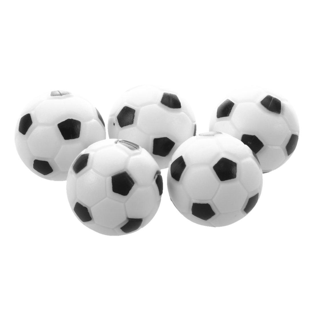 Futbolín - TOOGOO (R) 5 x futbolín juguete pelota de juguete pequeño, 32 mm: Amazon.es: Deportes y aire libre