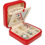 Margo - Red Lizard Style Travel Jewelry Case