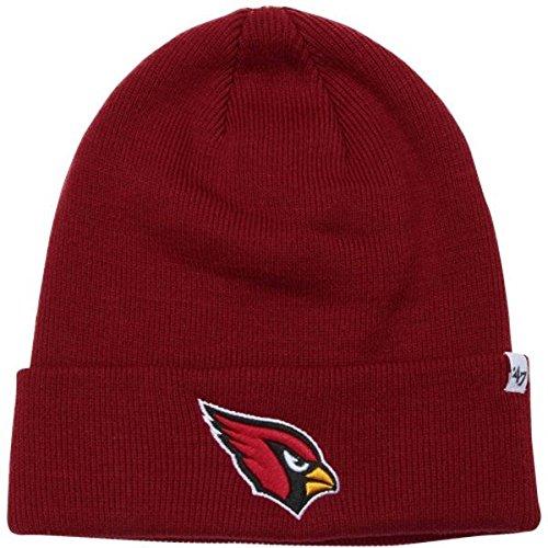 Arizona Cardinals Maroon Cuff Beanie Hat - NFL Cuffed Knit Toque Cap