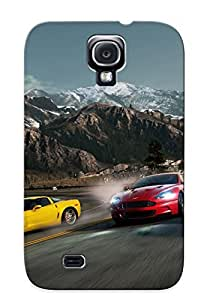 Catenaryoi Tpu Case For Galaxy S4 With Need For Speed Hot Pursuit, Nice Case For Thanksgiving Day's Gift